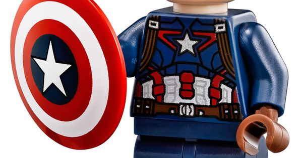 how to make a lego captain america shield