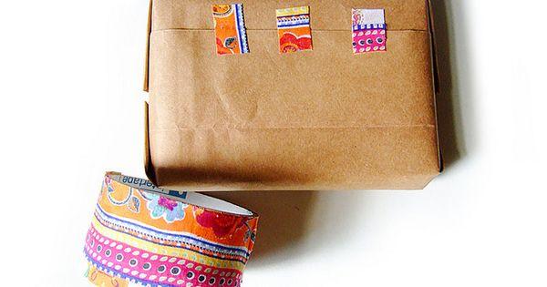 nastro adesivo di stoffa tutorial