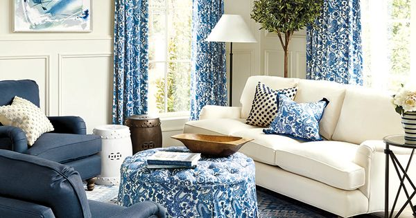 10 Living Rooms Without Coffee Tables Round Ottoman Ottomans And Living Rooms
