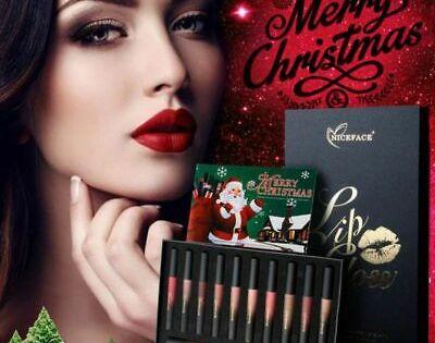 Longlasting Matte Makeup Liquid Lip Tint Lip Gloss Chritmas Lipstick Set Tinted Lip Gloss Matte Lip Gloss Lip Gloss Set