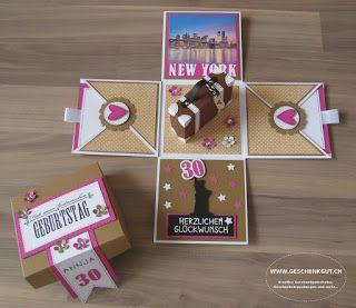 überraschungsbox Explosionsbox Geschenkgutschein