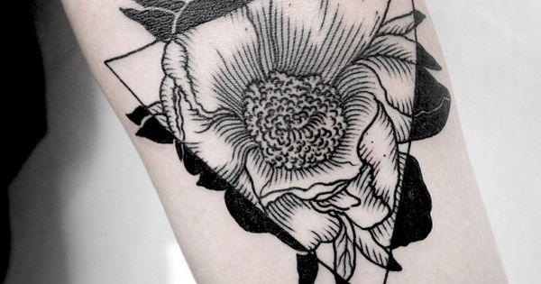 //Floral tattoo