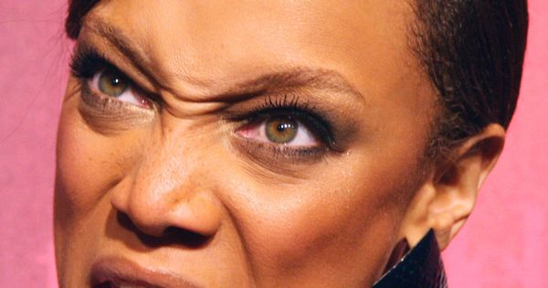 Tyra banks! | Funny faces | Pinterest
