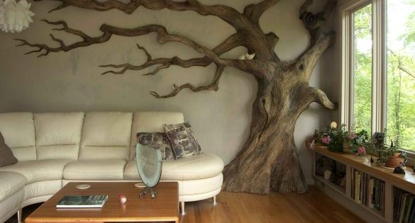 Cool sculptured tree!