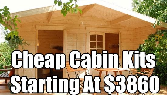 Cheap Cabins To Build Yourself Inexpensive Small Cabin: Cheap Cabin Kits Starting At $3860, Cabin, Cabin Kit