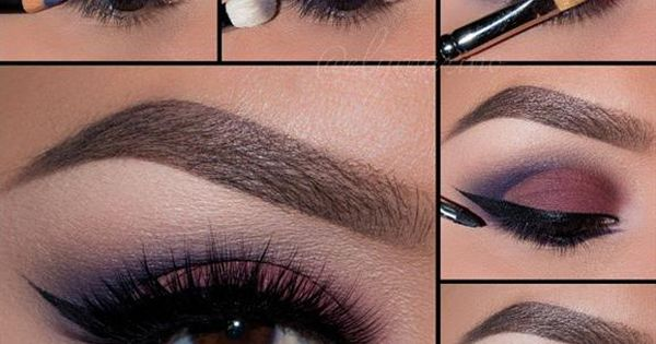 Cranberry Smoky by @elymarino I pampadour motives eotd makeup beauty pictorial tutorial