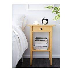Hemnes Nachtkastje Wit Gebeitst 46x35 Cm Mesita De Noche Ikea