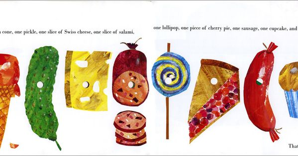 Very Hungry Caterpillar Junk Food The Very Hungry Caterp...