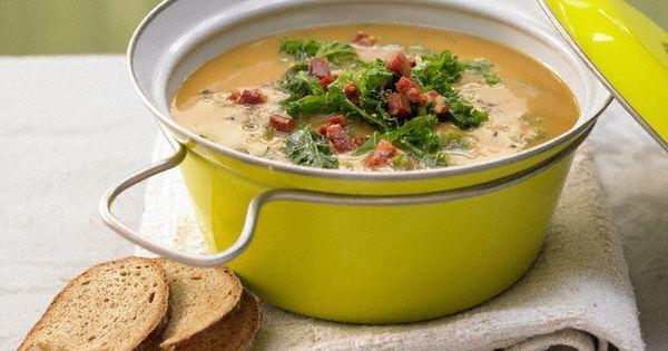 kartoffelsuppe mit gr nkohl recipe soups chorizo and potato soup. Black Bedroom Furniture Sets. Home Design Ideas