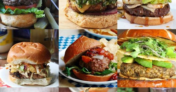 99 Amazing Burger Recipes - because one burger recipe simply isn't enough!