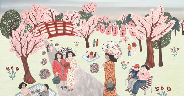 Looking At People And Communities Around The World With The Greatest Longevity And Lowest Incidence Of Chr Cherry Blossom Festival Cherry Blossom Blossom Trees