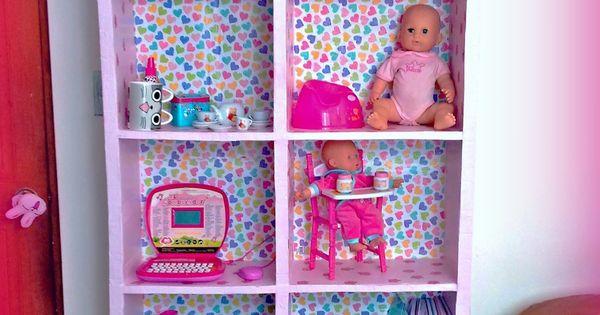 Mueble organizador para juguete hecho de cart n cartonage pinterest watches - Mueble organizador de juguetes ...