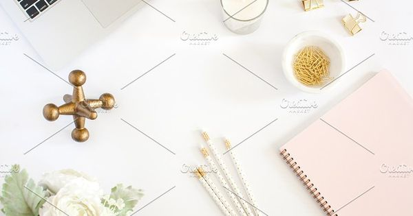 Pink and Gold Styled Desktop 4 – Muriel Silva High Res File STYLED STOCK PHOTOS for Growing Businesses