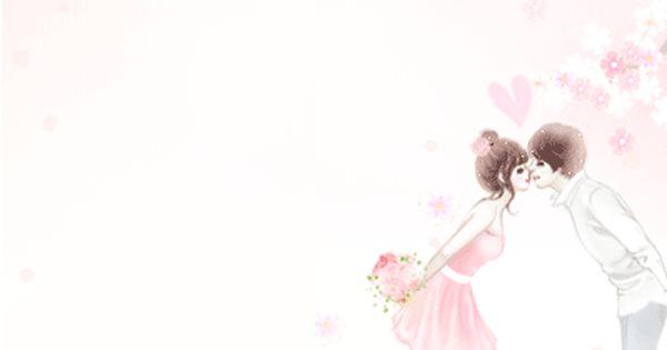 Animasi Kartun Korea Sepasang Kekasih Bunga Sakura Gif 400 420
