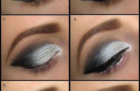 white eyeshadow tutorial