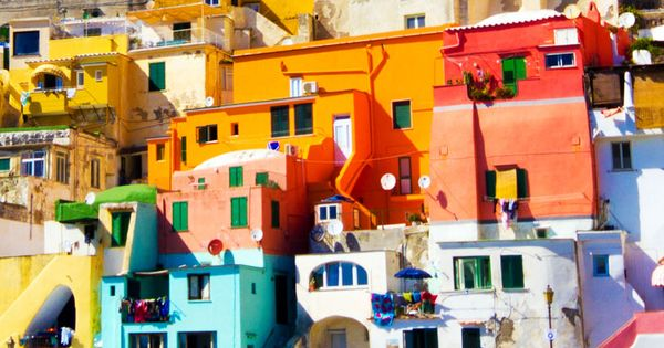 Procida - Island in the mediterranean Sea Coast, Naples. Italy | 15