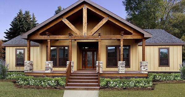Steps To Putting A Manufactured Home On Your Property Landcentral Manufactured Home Porch Mobile Home Porch Mobile Home Exteriors