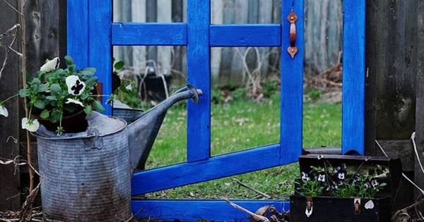 Diy Optical Illusion Garden Mirror Garden Mirrors