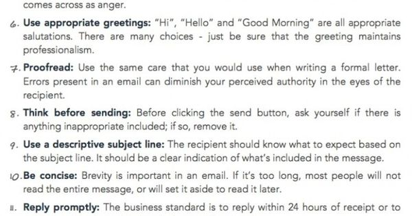 15 tips for workplace email etiquette filled