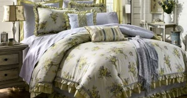 King Size Comforter Mary Jane S Farm Posy Chic Bedspread