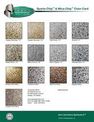 Hp Spartacote Sparta Chip Concrete Coatings Garage Floor