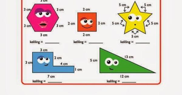 Belajar Anak Sd Geometri Mengukur Keliling Bangun Dengan Gambar Amp Soal Cerita Belajar Anak