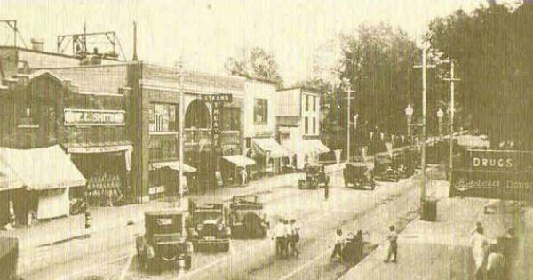 Old Massena 1920s Photo Pictures New York State