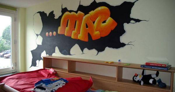 Graffiti wallpaper for boys bedroom graffiti design art for Bedroom graffiti designs