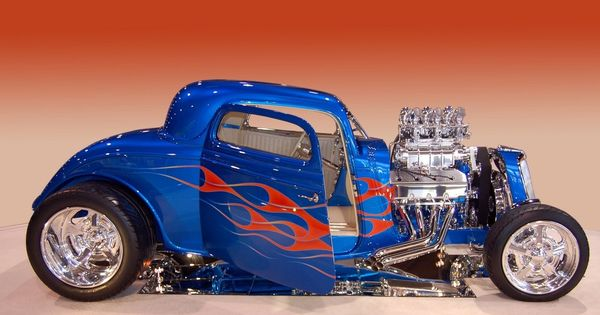 1933 Ford Coupe Blue Oval Garage Pinterest Scale