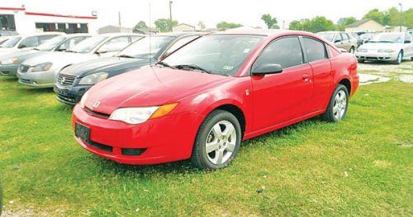 2006 Saturn Ion Houston Tx Used Cars Cars Pets