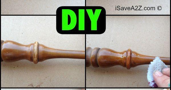 DIY Furniture Scratch Removal Trick