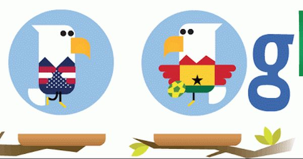 Us Vs Ghana Doodle Pictures