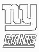 New York Giants Logo Coloring Page Coloring Pages New York