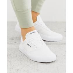 Adidas Originals 3mc Sneaker In Triple Weiss Adidasadidas Adidas Schuhe Weiss Adidas Schuhe Frauen Weisse Turnschuhe Outfit