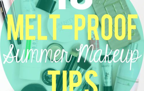 Is hot weather not playing well with your current makeup routine? This