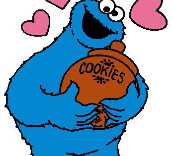 Sesame Street Clipart Monster Cookies Sesame Street Sesame Street Muppets