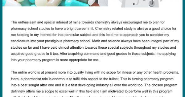 Sample Of Pharmacy School Personal Statement   Personal Statement Help Pharmacy