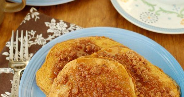Cinnamon Streusel Pumpkin Pancakes | Recipe | Pumpkin Pancakes ...
