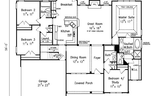 Frank betz has an available floor plan entitled gramercy for Ron lee homes floor plans