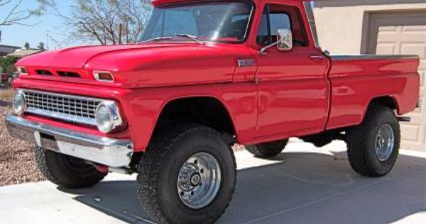 1965 Chevy Pickup 4x4 Frame Off Restoration For Sale Chevy