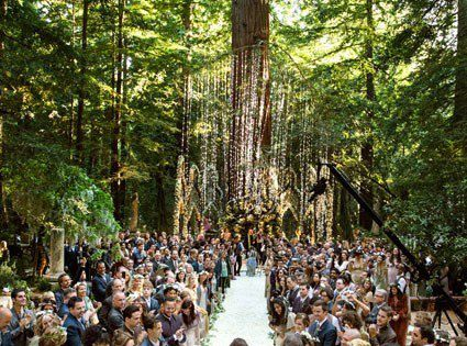 What a crazy and beautiful wedding. So magical and mystical! Sean Parker's