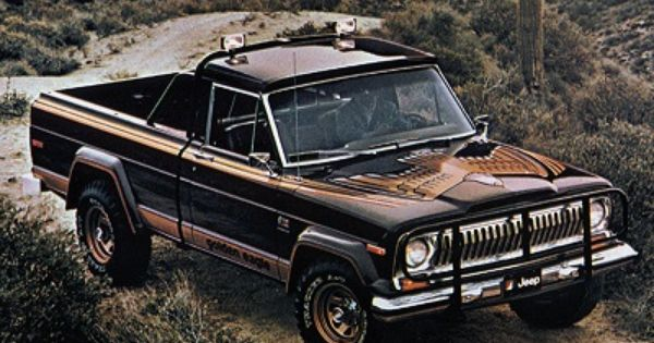 Jeep J10 Golden Eagle 1978 Jeep Pickup Truck Jeep Golden