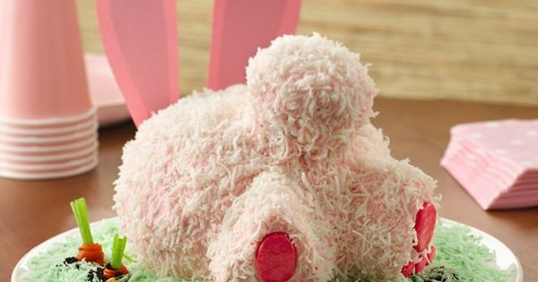 Bunny Butt Cake- a new idea for the easter cake!
