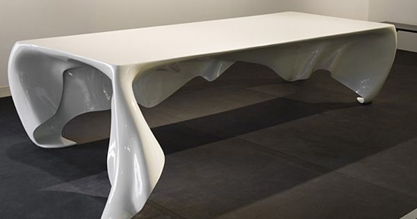 edge of the plank: 'phantom' table by graft architects | thoughts, Badezimmer