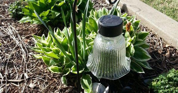 Diy Garden Solar Lights Dollar Tree Lights And Shepherd