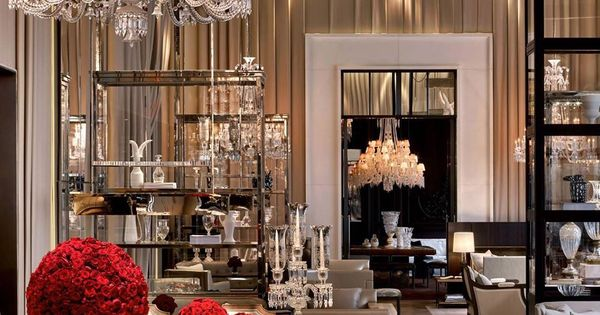 Grand salon at the baccarat hotel new york top new york for Salon baccarat