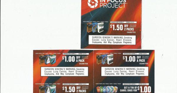 Camel cigarettes digital coupons