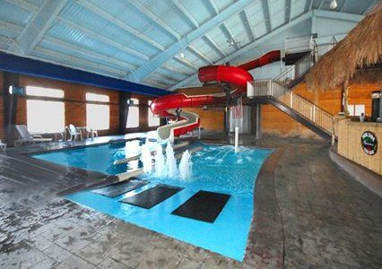 Indoor water slide anyone dream home pinterest - Indoor swimming pool with slides london ...