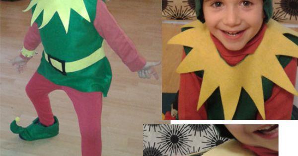 Disfraz casero de duende carnestoltes carnaval - Disfraces duendes navidenos ...