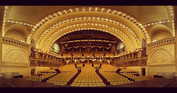 Chicago's Auditorium Theater...it is magnificent.